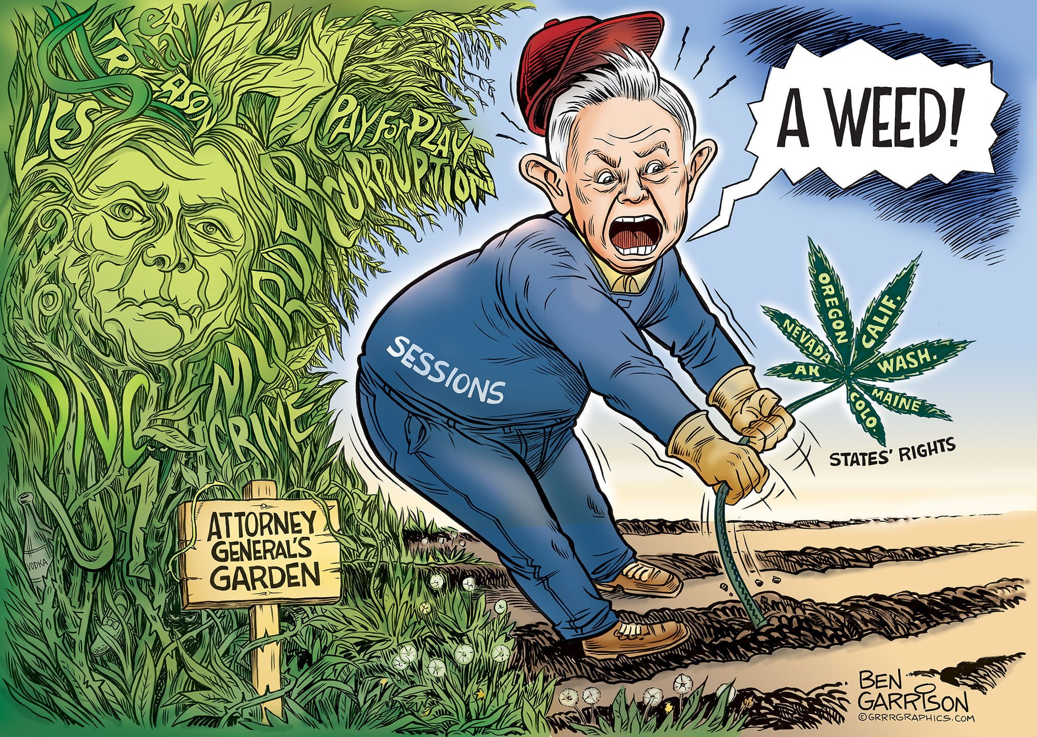 Session's Garden - Grrr Graphics
