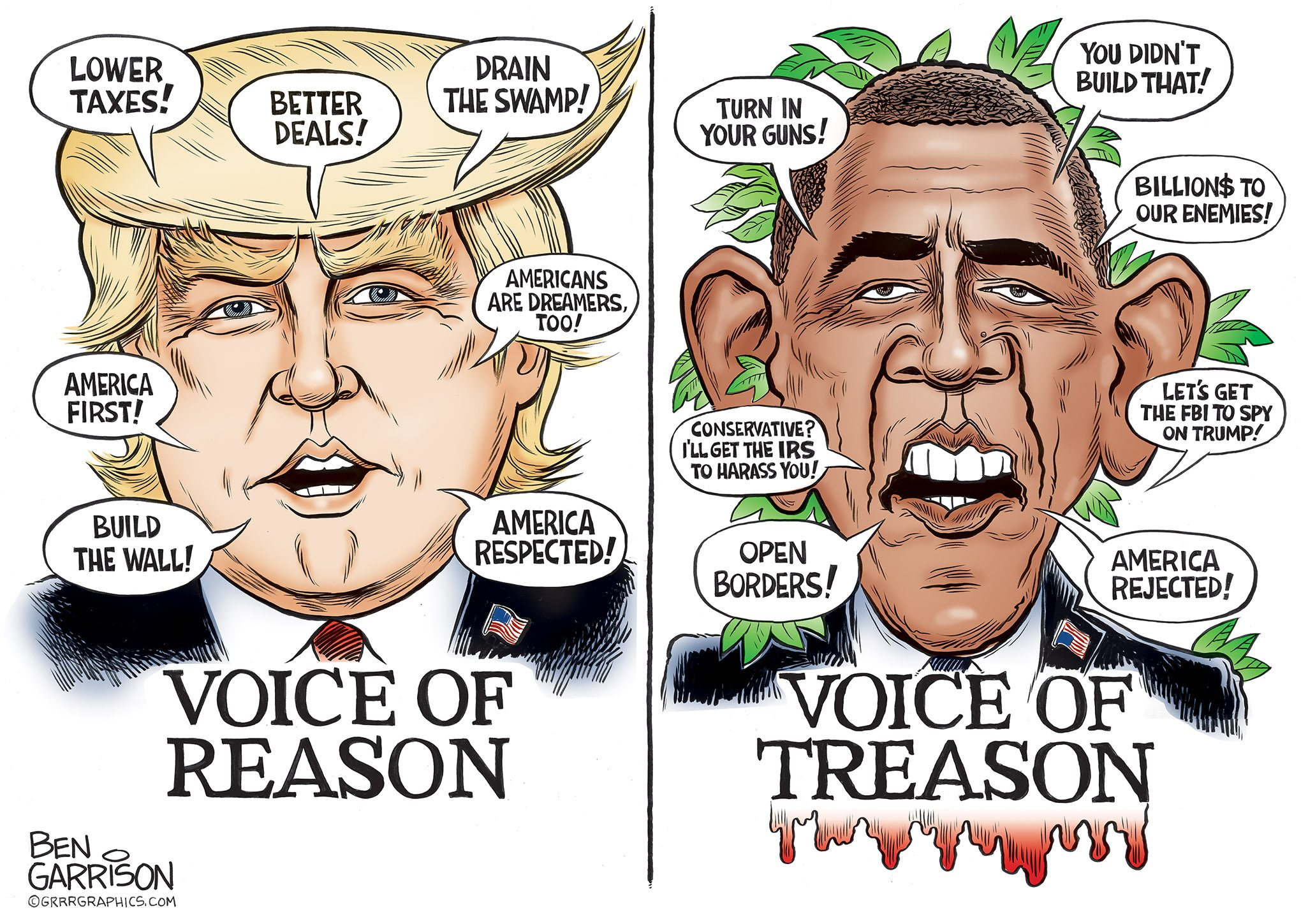 Reason vs. Treason