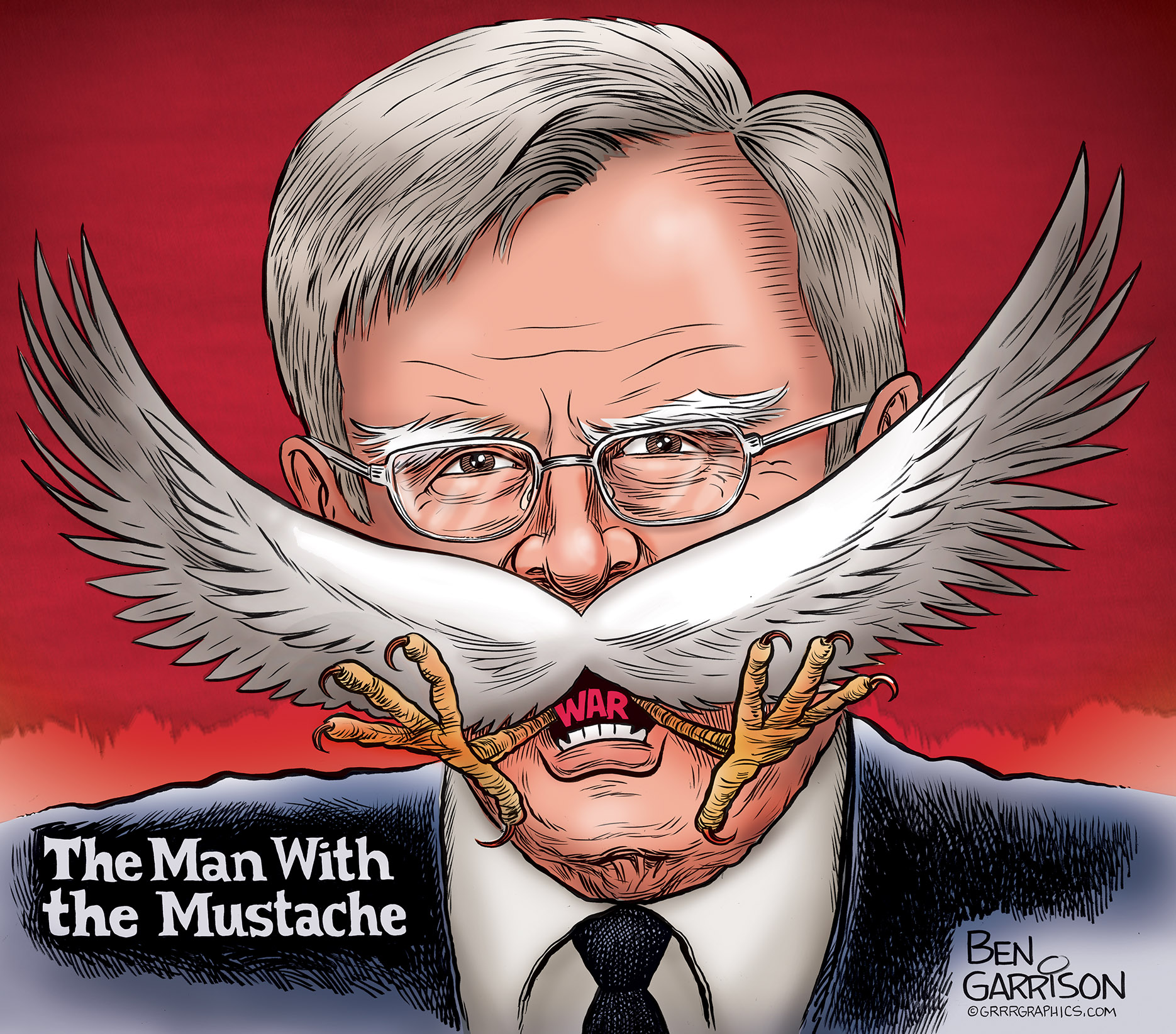 Image result for ben garrison the man with the mustache