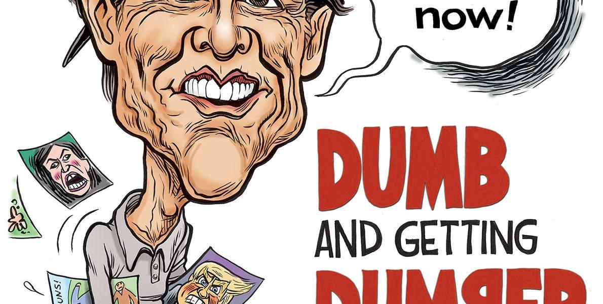 Jim Carrey, Dumb and Getting Dumber