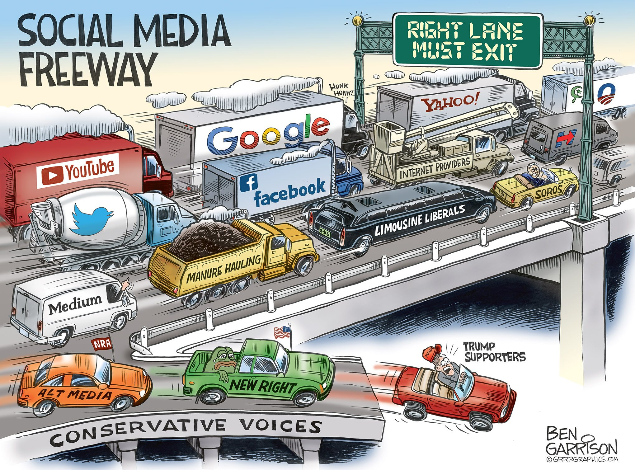 Image result for ben garrison social media freeay