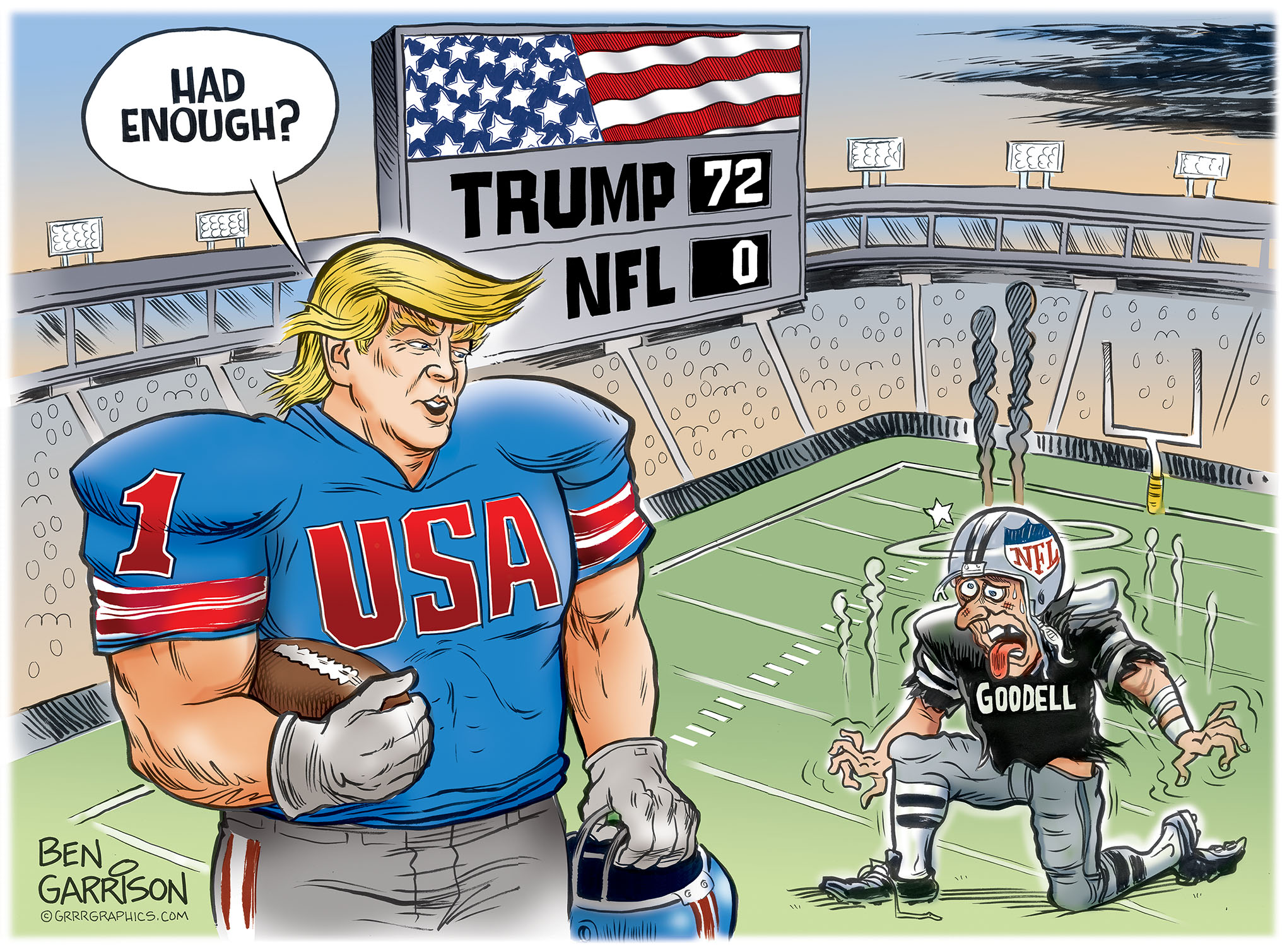 Nfl Football Player Cartoon Edits: What The New NFL Rule Means