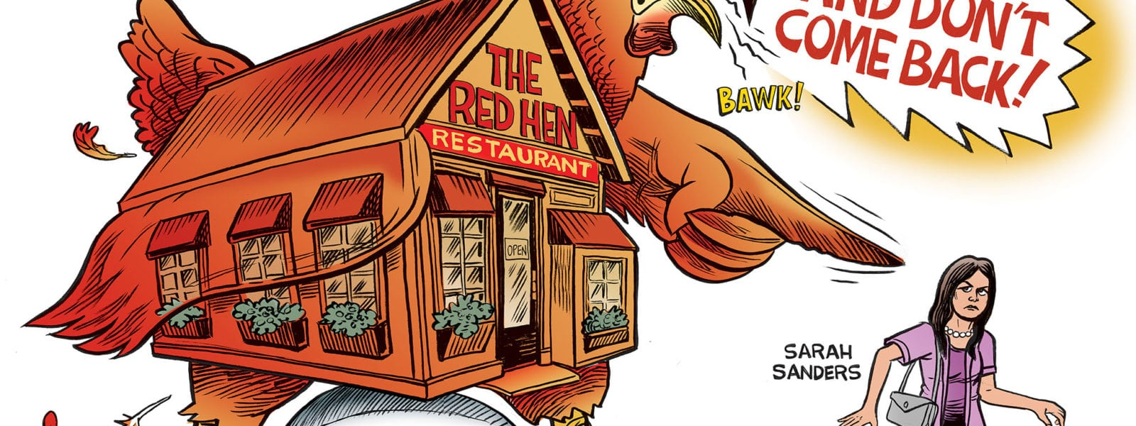 The Left Lays An Egg- Red Hen