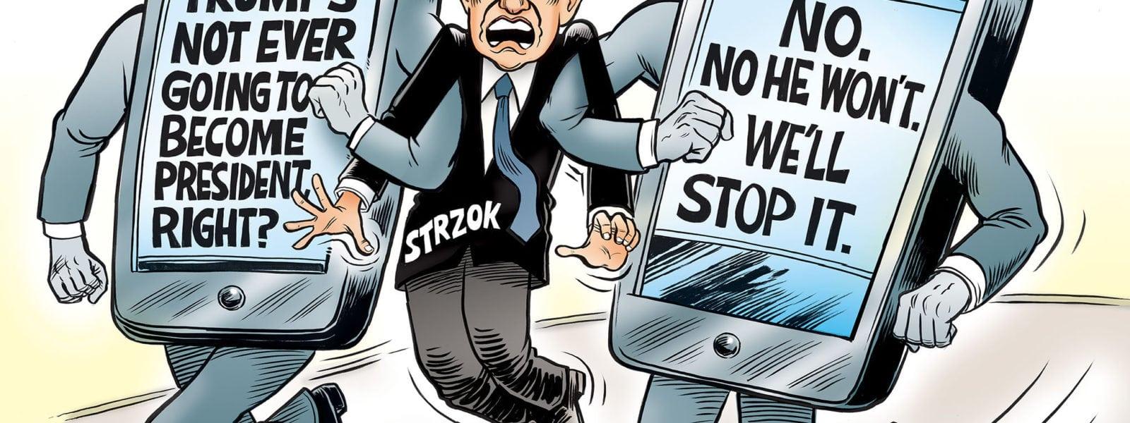 Peter Strzok Has Left The Building