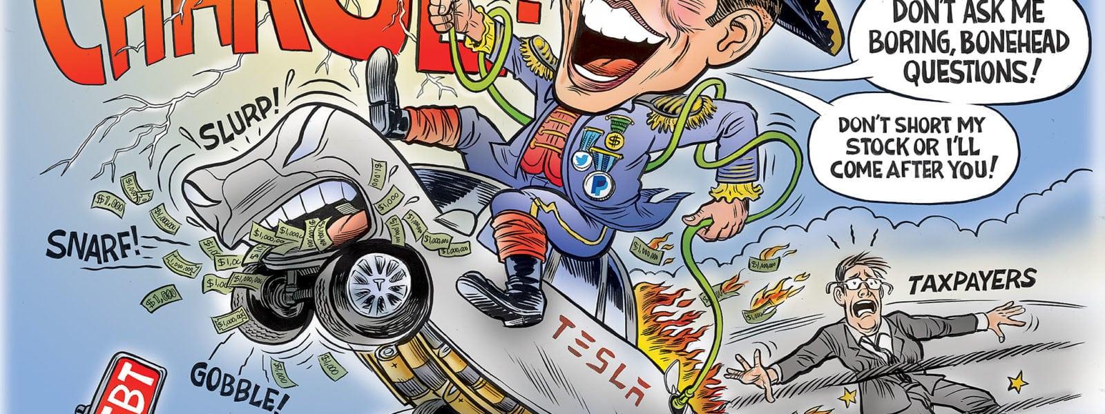 Tesla's  Musk Mobile