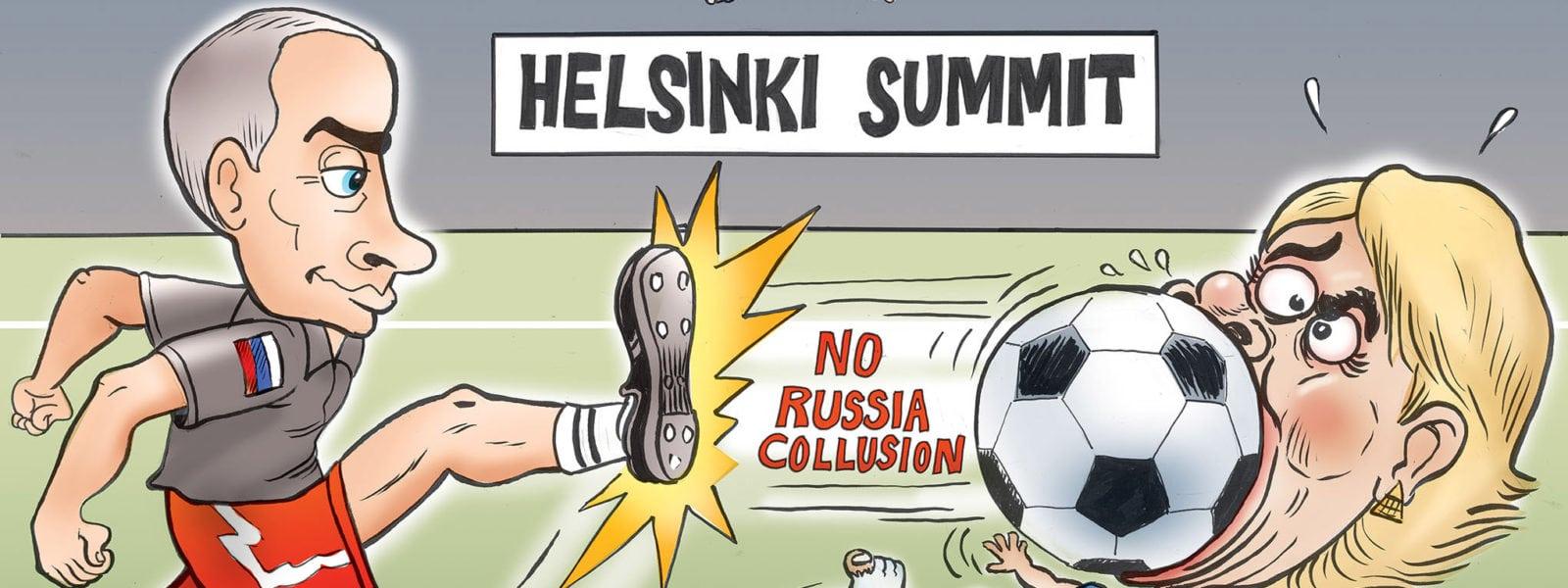 Game over- No Russian Collusion
