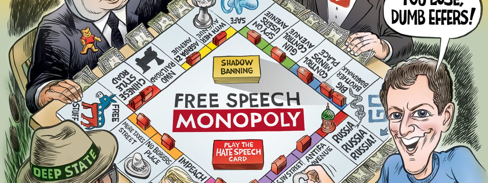 The Game is Rigged- Free Speech Monopoly