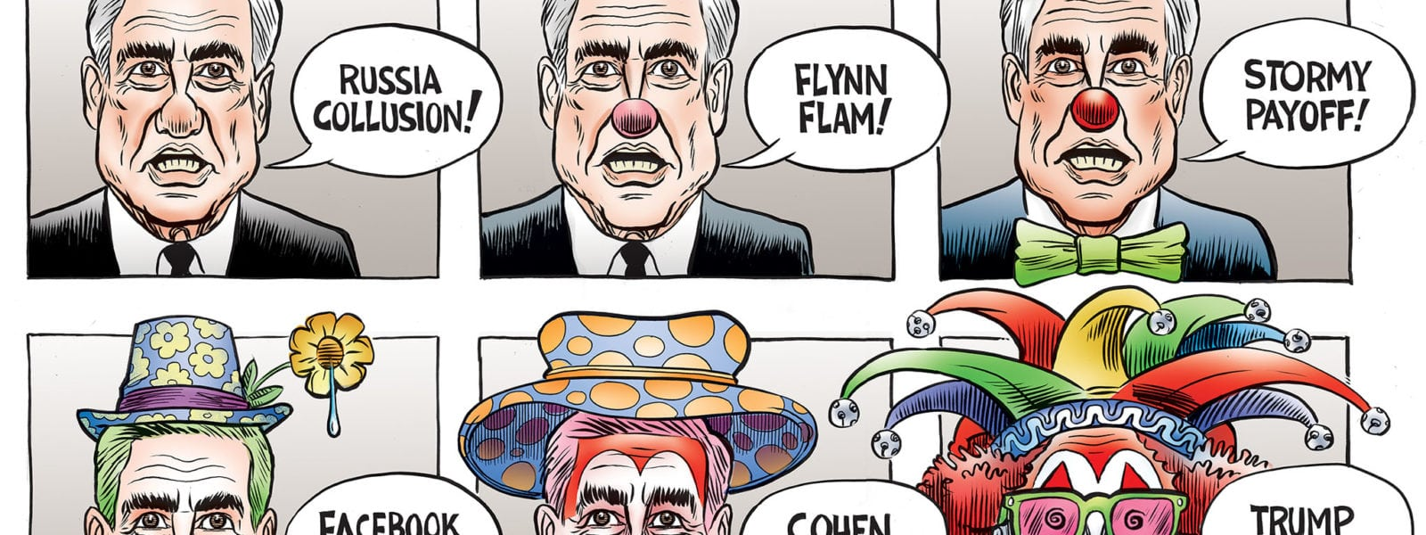 Mueller in Clownological Order