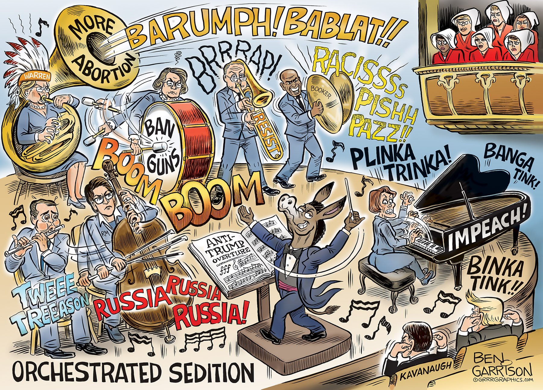 Image result for the democrats orcastated sedition