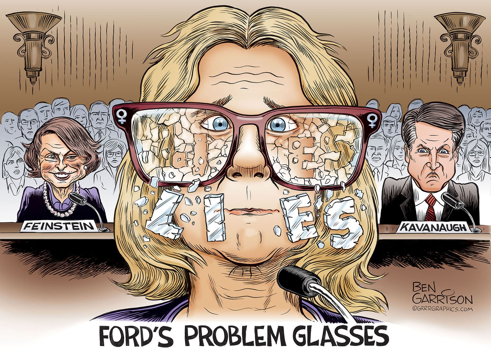 Image result for christine ford liar