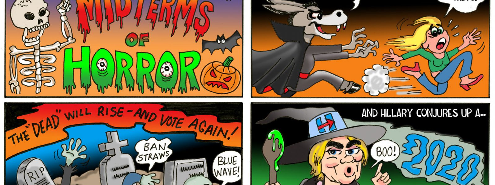The Democrats' Midterms of Horror Tina Toon