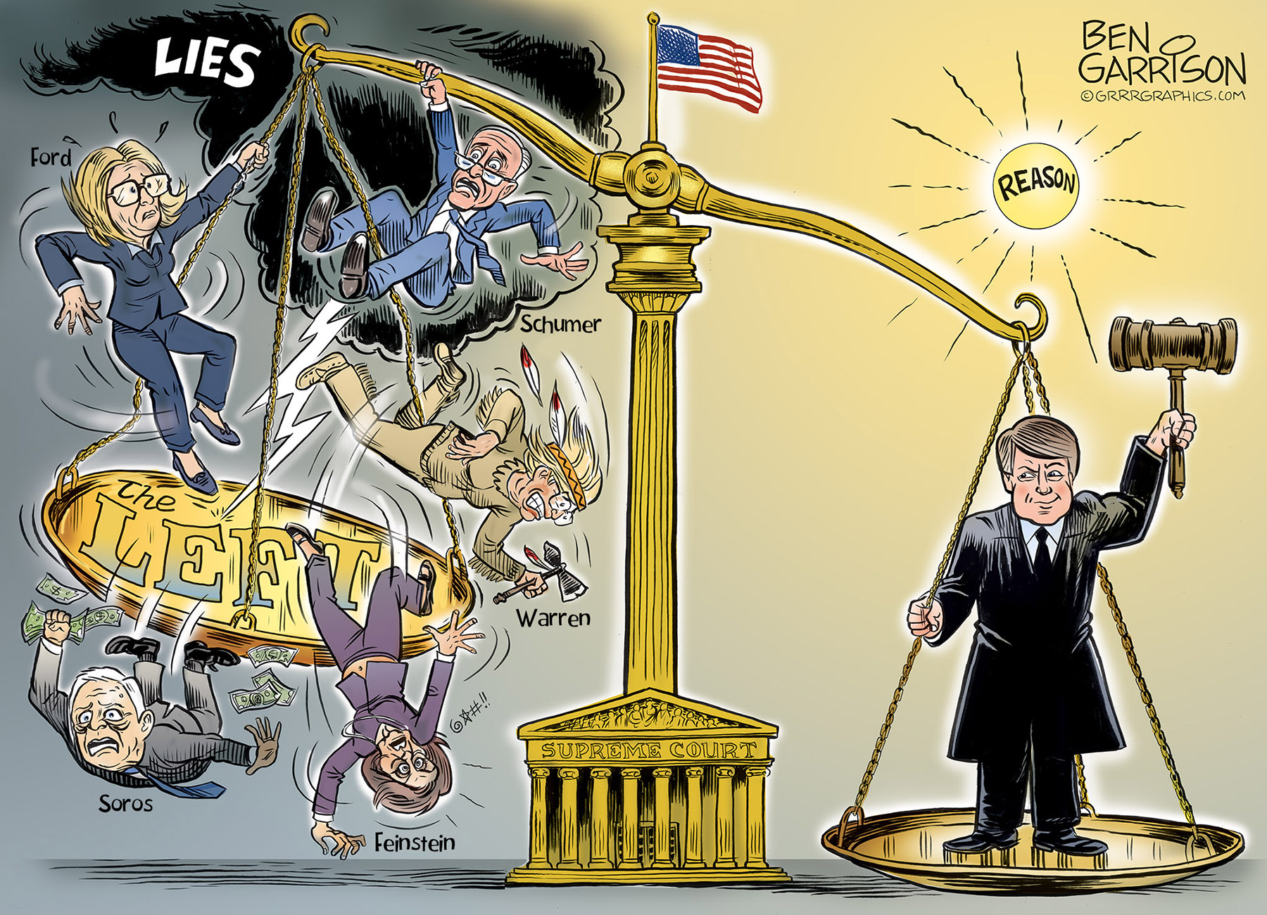 Image result for ben garrison kavanaugh