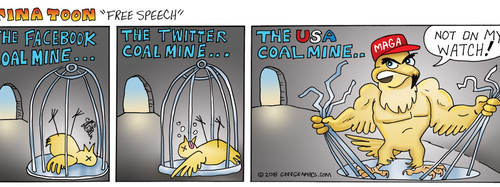 Tina Toon #6  Canaries in The Coal Mine