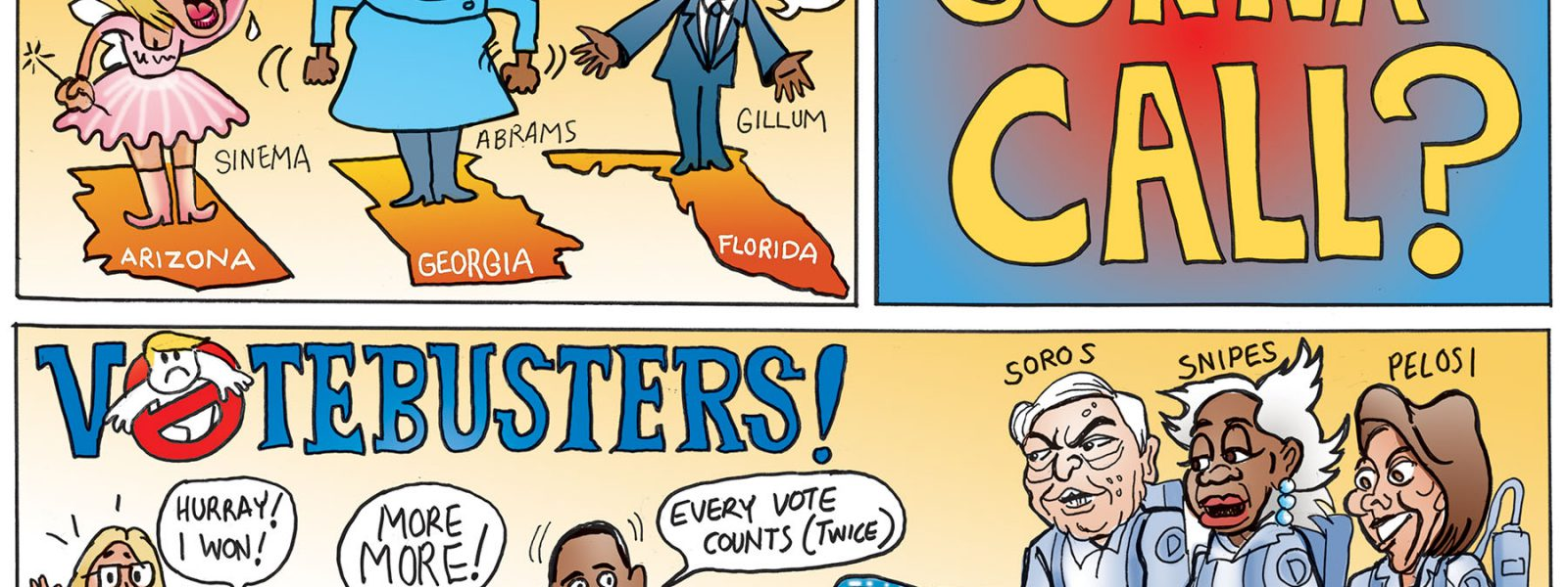 Who You Gonna Call, Vote Busters!