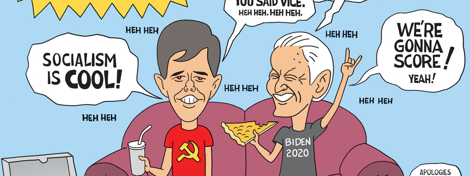 Beto and Biden-Head 2020