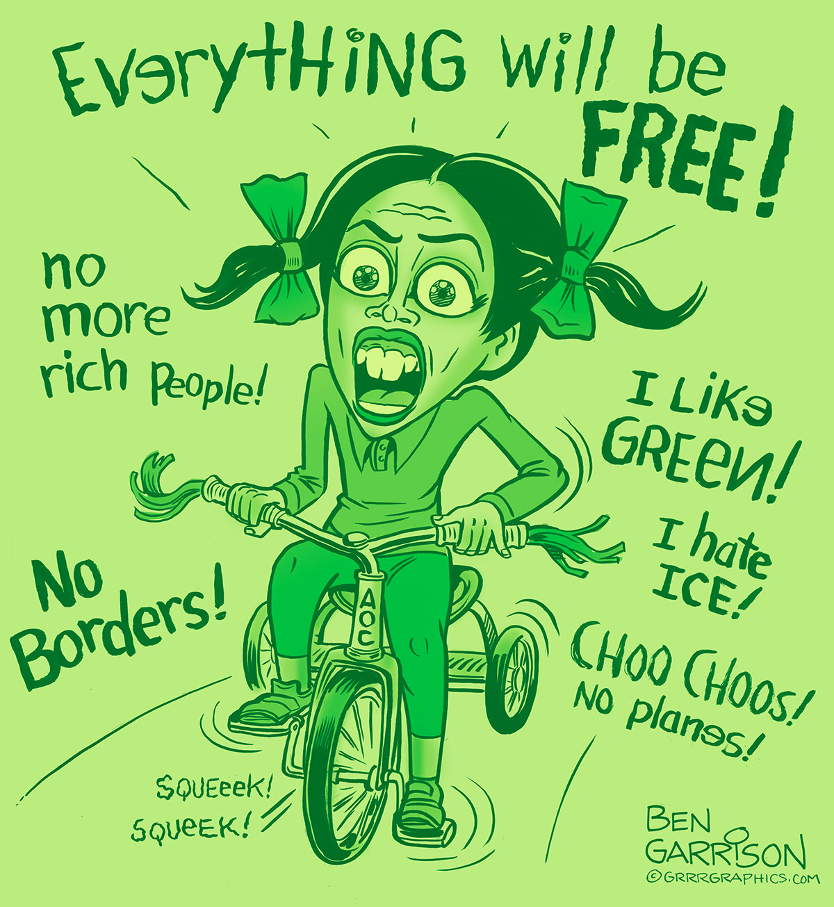 Image result for aoc new green deal