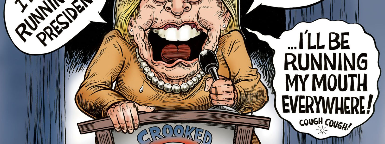 Hillary's Mouth 2020