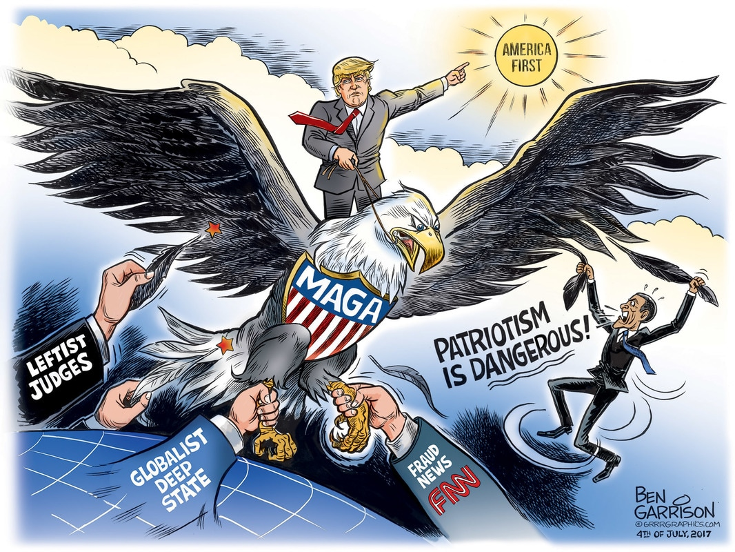 Image result for ben garrison patriotism cartoon