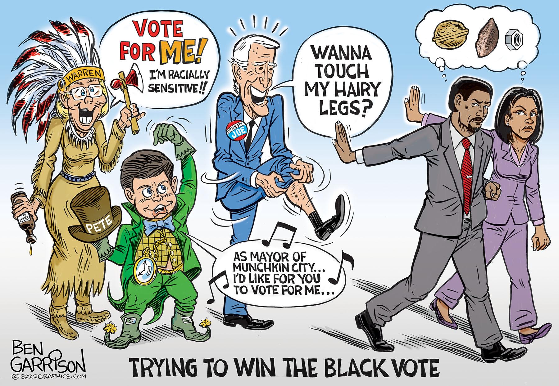 Walk Away From Democrats - Grrr Graphics - Ben Garrison ...