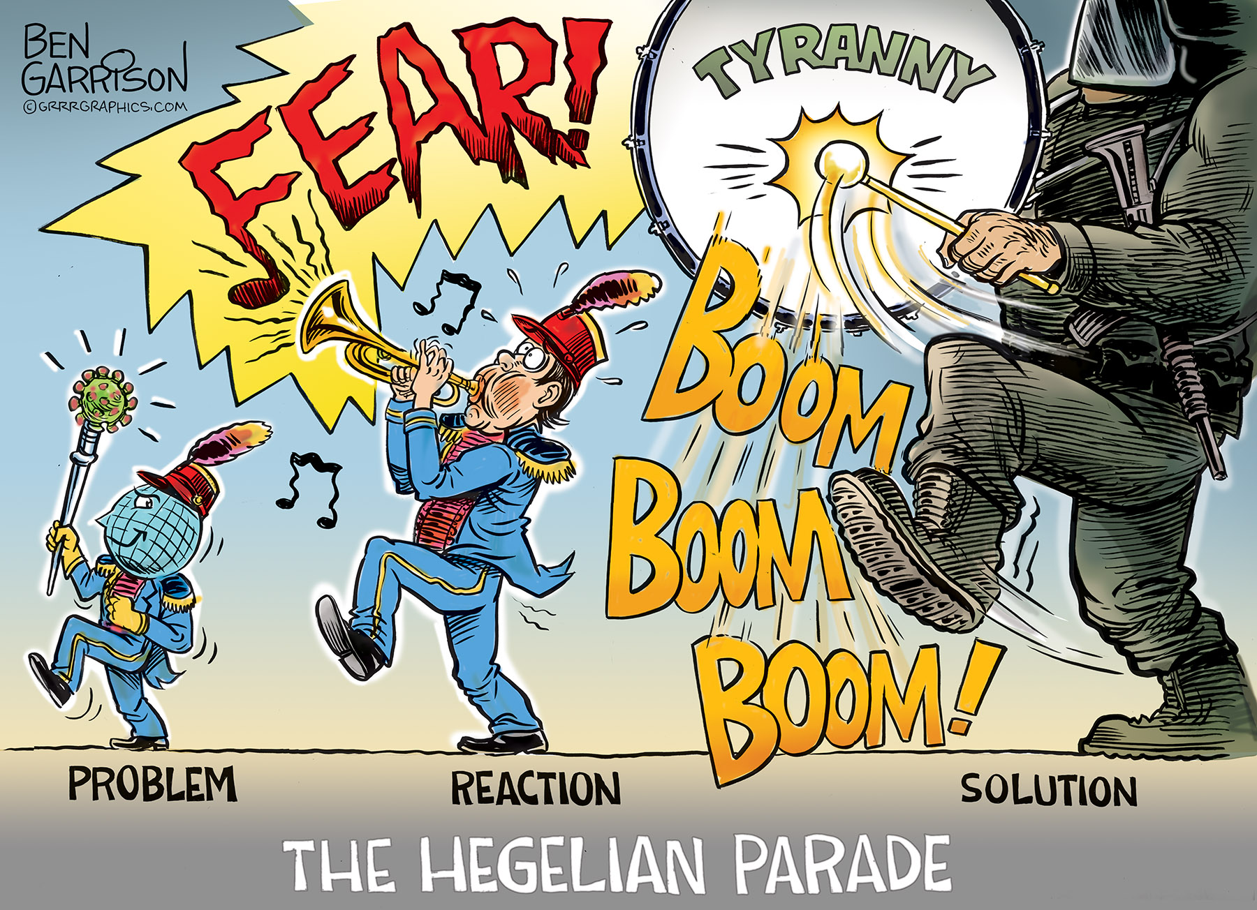 The Fear Parade – Grrr Graphics