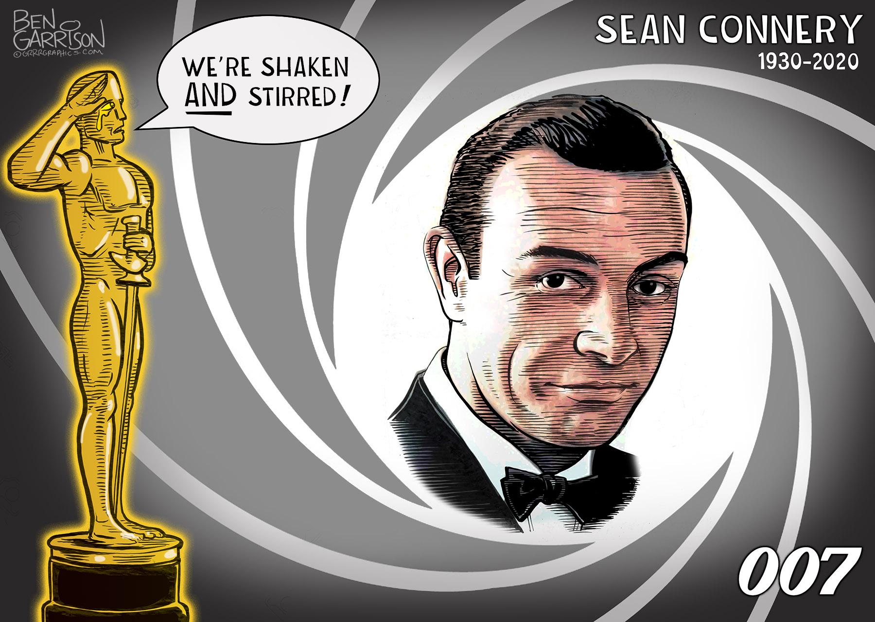 James Bond RIP Sean Connery - Grrr Graphics