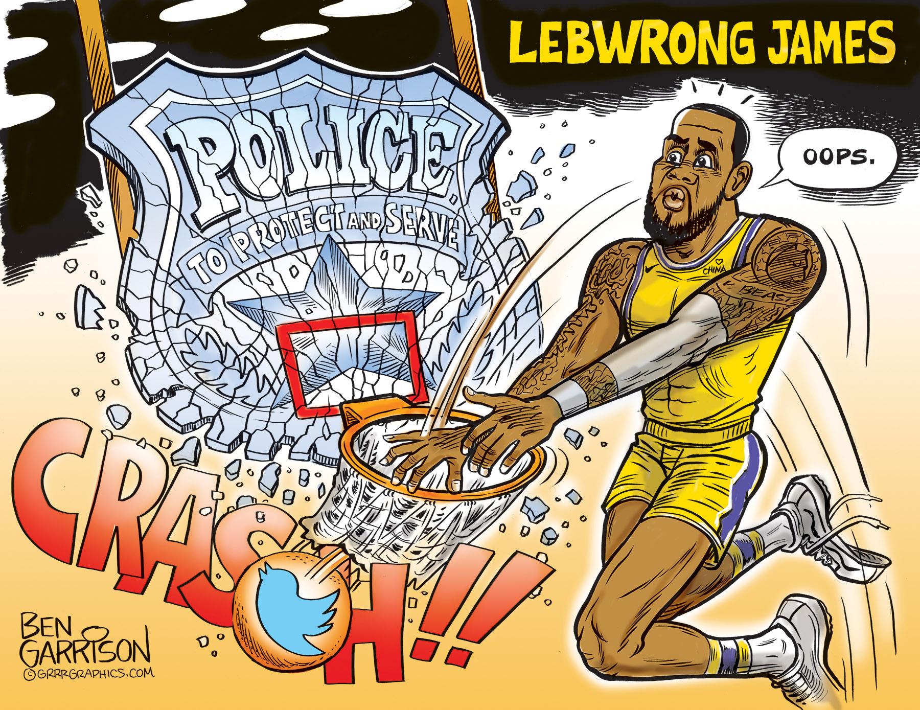 Lebwrong James